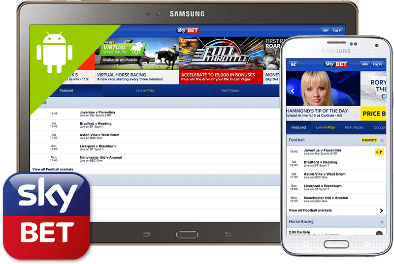Sky Bet Mobile: Download the Official Android App now from