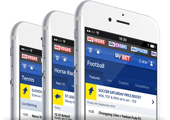 My Bets | Sky Bet Mobile | £5 Free Bet Every Week